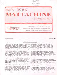 Mattachine Society of New York Papers